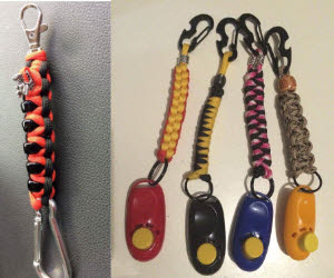 Clicker clips or Key clips